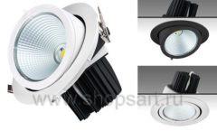 Встраиваемый выдвижной светодиодный светильник c мощным световым потоком 3951 лм для магазина