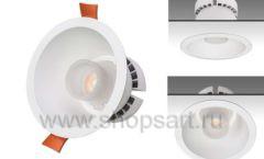 Встраиваемые светодиодные светильники для магазинов c управлением по технологии Bluetooth со смартфона