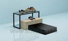 Горка для магазина обуви торговое оборудование СТИЛЬ ЛОФТ