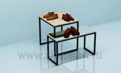 Остров для магазина обуви торговое оборудование СТИЛЬ ЛОФТ
