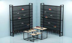 Торговая мебель для магазина обуви торговая мебель СТИЛЬ ЛОФТ