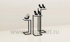 Стойки для магазина одежды комплект торговое оборудование ЧЕРНО БЕЛАЯ КЛАССИКА