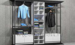Торговая мебель ЛОФТ для магазина мужской одежды торговое оборудование КЛАССИЧЕСКИЙ ЛОФТ