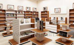 Дизайн интерьера книжного магазина торговое оборудование КНИГОЛЮБ Дизайн 01
