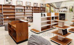 Дизайн интерьера книжного магазина торговое оборудование КНИГОЛЮБ Дизайн 02