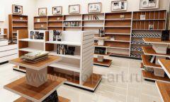 Дизайн интерьера книжного магазина торговое оборудование КНИГОЛЮБ Дизайн 03