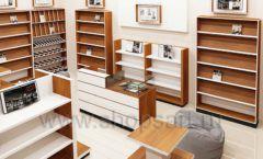 Дизайн интерьера книжного магазина торговое оборудование КНИГОЛЮБ Дизайн 06