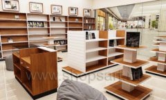 Дизайн интерьера книжного магазина торговое оборудование КНИГОЛЮБ Дизайн 07