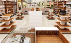 Дизайн интерьера книжного магазина торговое оборудование КНИГОЛЮБ Дизайн 08