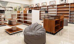 Дизайн интерьера книжного магазина торговое оборудование КНИГОЛЮБ Дизайн 09