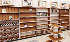 Дизайн интерьера книжного магазина торговое оборудование КНИГОЛЮБ Дизайн 11