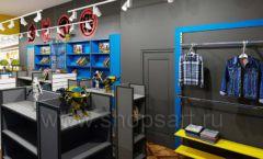 Дизайн интерьера 1 книжного магазина комиксов торговое оборудование КНИГОЛЮБ Дизайн 06