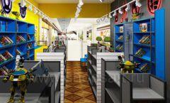 Дизайн интерьера 1 книжного магазина комиксов торговое оборудование КНИГОЛЮБ Дизайн 14