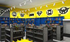 Дизайн интерьера 2 книжного магазина комиксов торговое оборудование КНИГОЛЮБ Дизайн 11