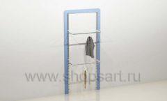 Стеллаж для детского магазина торговое оборудование ГОЛУБАЯ ЛАГУНА