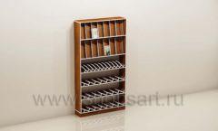 Стеллаж для магазина книг торговое оборудование КНИГОЛЮБ