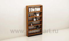 Шкаф для книжного магазина с прямыми полками торговое оборудование КНИГОЛЮБ