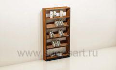 Шкаф для книжного магазина с наклонными полками торговое оборудование КНИГОЛЮБ