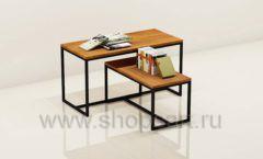 Столы для книжного магазина торговое оборудование КНИГОЛЮБ