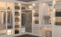 Дизайн интерьера для гардеробных 1 мебель КЛАССИЧЕСКИЙ СТИЛЬ Дизайн 9