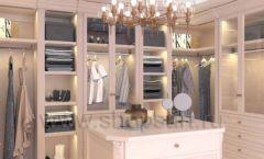 Дизайн интерьера для гардеробных 2 мебель КЛАССИЧЕСКИЙ СТИЛЬ Дизайн 1