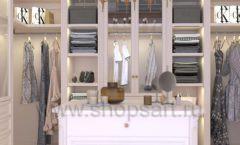 Дизайн интерьера для гардеробных 2 мебель КЛАССИЧЕСКИЙ СТИЛЬ Дизайн 6