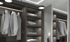Дизайн интерьера для гардеробных 1 мебель СТИЛЬ ЛОФТ Дизайн 04