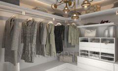 Дизайн интерьера для гардеробных 2 мебель СТИЛЬ ЛОФТ Дизайн 01