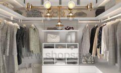 Дизайн интерьера для гардеробных 2 мебель СТИЛЬ ЛОФТ Дизайн 02