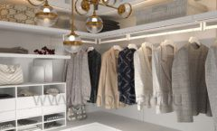 Дизайн интерьера для гардеробных 2 мебель СТИЛЬ ЛОФТ Дизайн 03