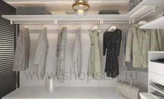 Дизайн интерьера для гардеробных 2 мебель СТИЛЬ ЛОФТ Дизайн 06