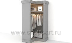 Шкаф гардеробный угловой мебель для гардеробной КЛАССИЧЕСКИЙ СТИЛЬ