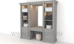 Шкаф гардеробный в спальню мебель для гардеробной КЛАССИЧЕСКИЙ СТИЛЬ