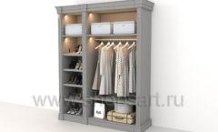 Шкаф для обуви и одежды мебель для гардеробной КЛАССИЧЕСКИЙ СТИЛЬ