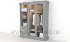 Мебель для гардеробных КЛАССИЧЕСКИЙ СТИЛЬ