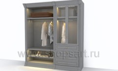 Мебель для гардеробных комнат КЛАССИЧЕСКИЙ СТИЛЬ
