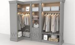 Угловая гардеробная мебель для гардеробной КЛАССИЧЕСКИЙ СТИЛЬ