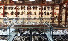 Торговое оборудование для ювелирного магазина Сувенир Парк Москва КОРИЧНЕВАЯ КЛАССИКА Фото 02
