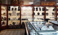 Торговое оборудование для ювелирного магазина Сувенир Парк Москва КОРИЧНЕВАЯ КЛАССИКА Фото 10