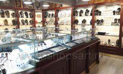 Торговое оборудование для ювелирного магазина Сувенир Парк Москва КОРИЧНЕВАЯ КЛАССИКА Фото 11