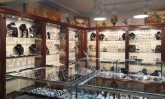 Торговое оборудование для ювелирного магазина Сувенир Парк Москва КОРИЧНЕВАЯ КЛАССИКА Фото 12