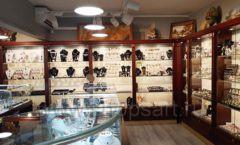 Торговое оборудование для ювелирного магазина Сувенир Парк Москва КОРИЧНЕВАЯ КЛАССИКА Фото 13
