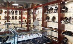 Торговое оборудование для ювелирного магазина Сувенир Парк Москва КОРИЧНЕВАЯ КЛАССИКА Фото 14