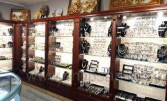 Торговое оборудование для ювелирного магазина Сувенир Парк Москва КОРИЧНЕВАЯ КЛАССИКА Фото 15