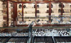 Торговое оборудование для ювелирного магазина Сувенир Парк Москва КОРИЧНЕВАЯ КЛАССИКА Фото 17