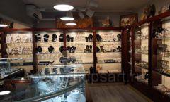 Торговое оборудование для ювелирного магазина Сувенир Парк Москва КОРИЧНЕВАЯ КЛАССИКА Фото 18