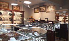 Торговое оборудование для ювелирного магазина Сувенир Парк Москва КОРИЧНЕВАЯ КЛАССИКА Фото 19