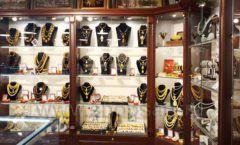 Торговое оборудование для ювелирного магазина Сувенир Парк Москва КОРИЧНЕВАЯ КЛАССИКА Фото 20
