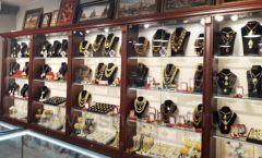 Торговое оборудование для ювелирного магазина Сувенир Парк Москва КОРИЧНЕВАЯ КЛАССИКА Фото 21