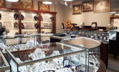Торговое оборудование для ювелирного магазина Сувенир Парк Москва КОРИЧНЕВАЯ КЛАССИКА Фото 22